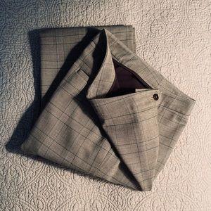 Jones New York - women wool blend trousers size 4P
